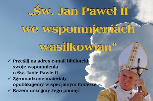 plakat jan paweł II