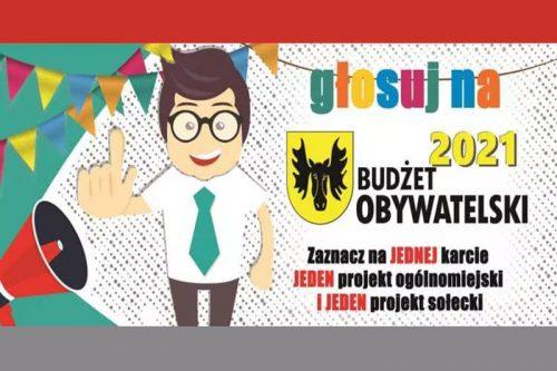 plakat budżetu obywatelskiego wasilków 2021