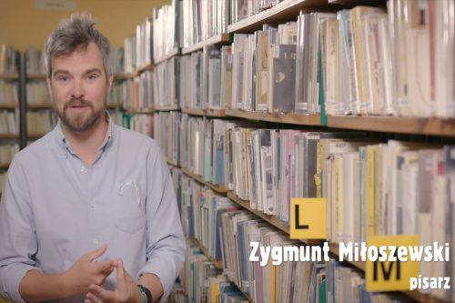 noc bibliotek 2020 - zdjęcie zygmunta miłoszewskiego