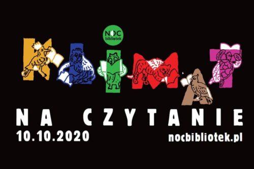 NOC BIBLIOTEK 2020 ONLINE!