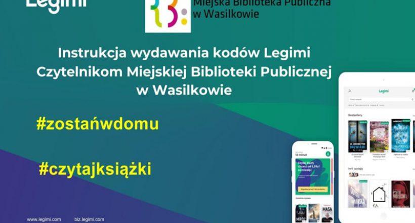 biblioteka cyfrowa Legimi - plakat