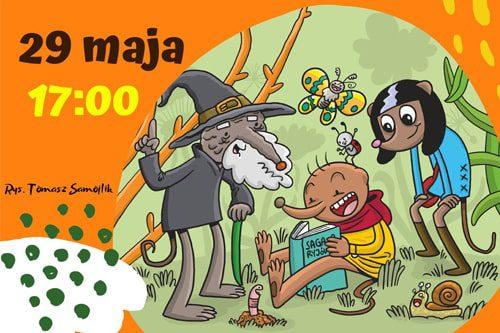 o rety! przyroda - plakat ksiązki tomasza samojlika