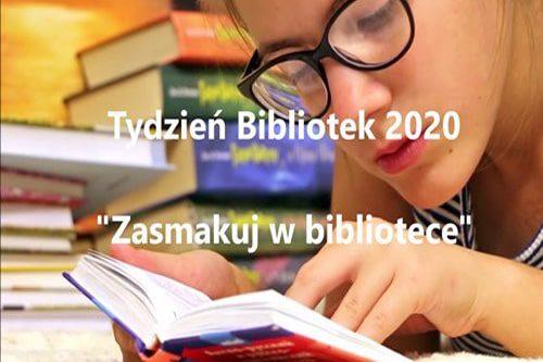 tydzień bibliotek 2020 - plakat