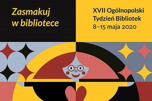ogólnopolski tydzień bibliotek 2020 - plakat