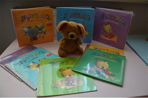 zdjęcie książek z serii Marysia