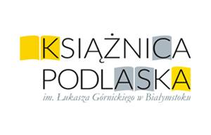logo ksiażnicy podlaskiej