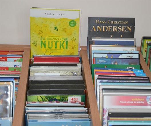 zestaw audiobooków