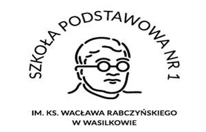 logo szkoły podstawowej nr 1 w wasilkowie