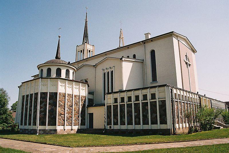 Na zdjęciu Kościół Parafialny pw. Najśiętszej Marii Panny Matki Miłosierdzia