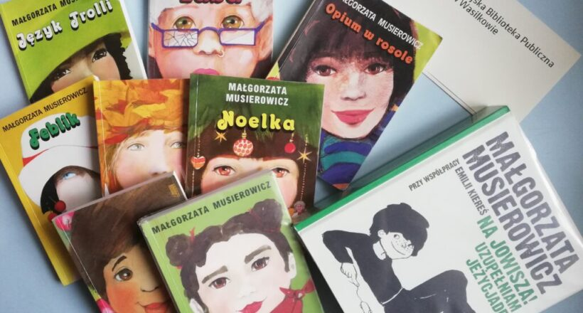 Na zdjęciu okładki powieści Malgorzaty Musierowicz z cyklu Jeżycjada