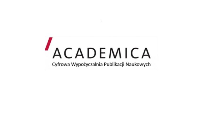 Logo cyfrowej wypożyczalni książek popularnonaukowych i czaopism Academica